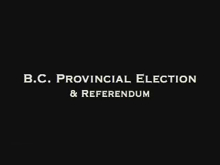 Elections BC Recounts