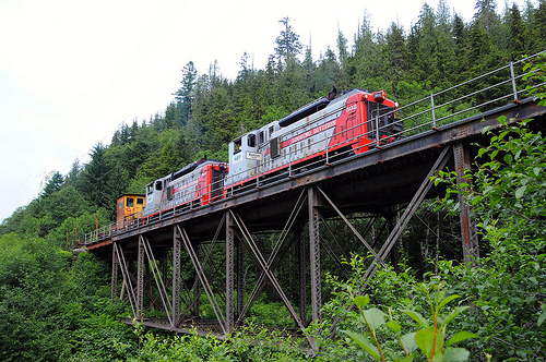 Two Dead After Train Derailment Near Woss
