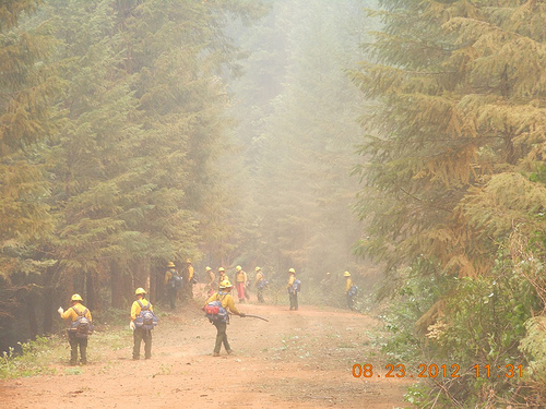 More Help to Battle Wildfires