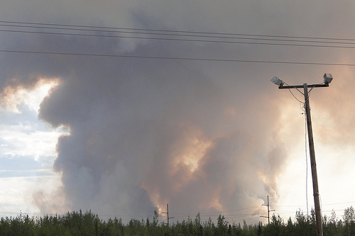 Some Wildfire Evacuees Allowed to Return Home