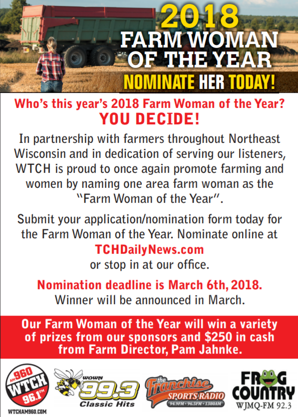 Farm Woman of the Year