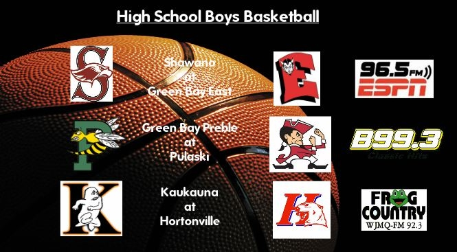 High School Boys Basketball Broadcasts: Tuesday, Jan. 24