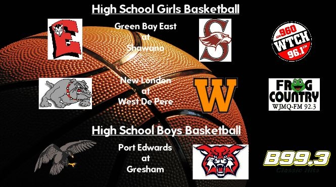 High School Basketball Broadcasts: Jan. 20, 2017