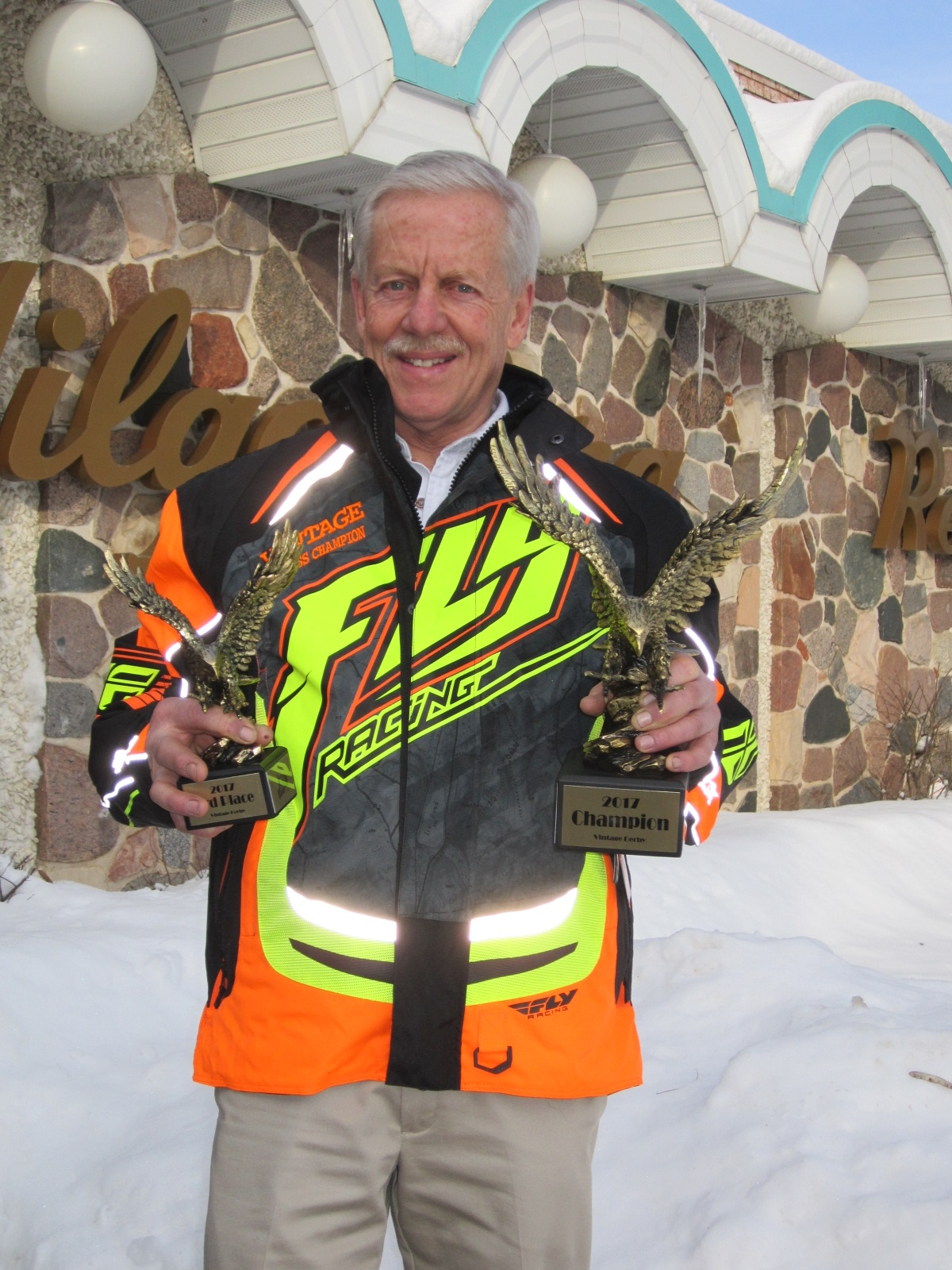 Shawano Man Places First in Eagle River Snowmobile Competition