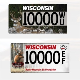 Wisconsin D.O.T. rolls out two new specialty license plates