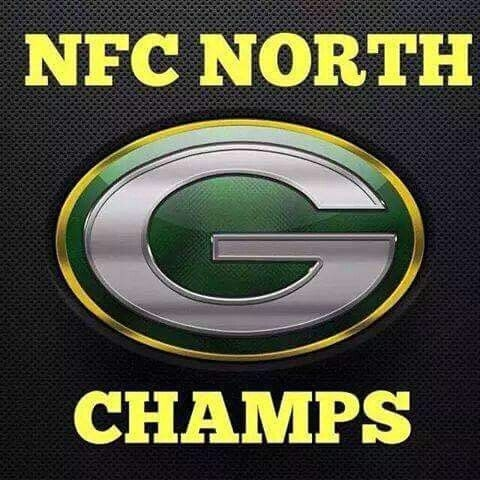 Packers Rule The North Again...Will Host Giants Sunday at 3:40pm