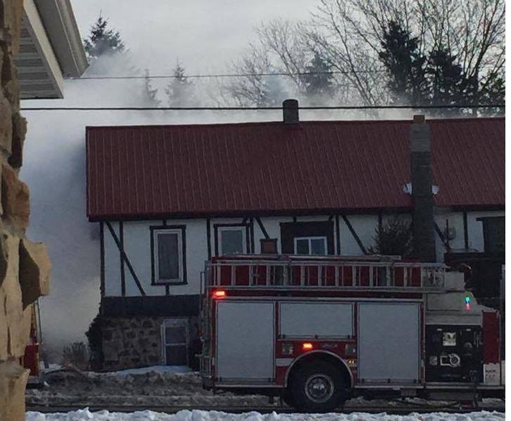 Fire Department Battles Blaze at Reinke Auto in Shawano