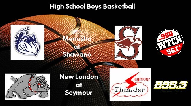 High School Basketball Scoreboard: Shawano wins fifth straight, Seymour takes down New London