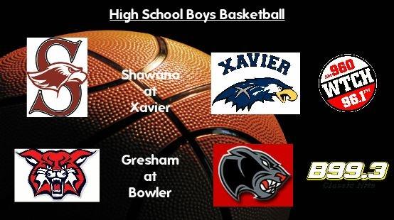 High School Boys Basketball Scoreboard: Gresham takes care of Bowler, Shawano battles tough with Xavier