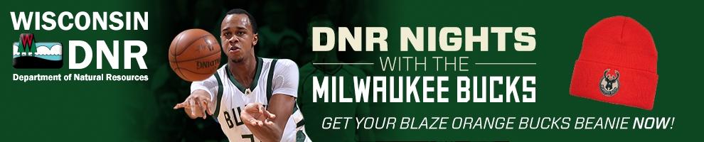 DNR teams up with Milwaukee Bucks