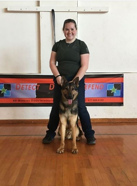 Shawano County Announces New K-9/Female Handler