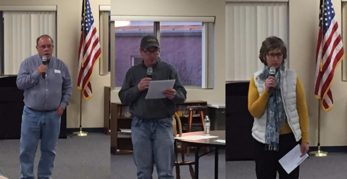 Three candidates running for New London Board of Education speak at open forum