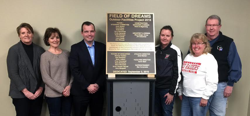 Pulaski School Board Honors Steering Committee