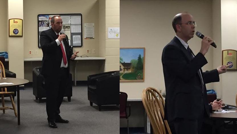 Candidates for Waupaca County Circuit Court Judge speak at open forum in New London