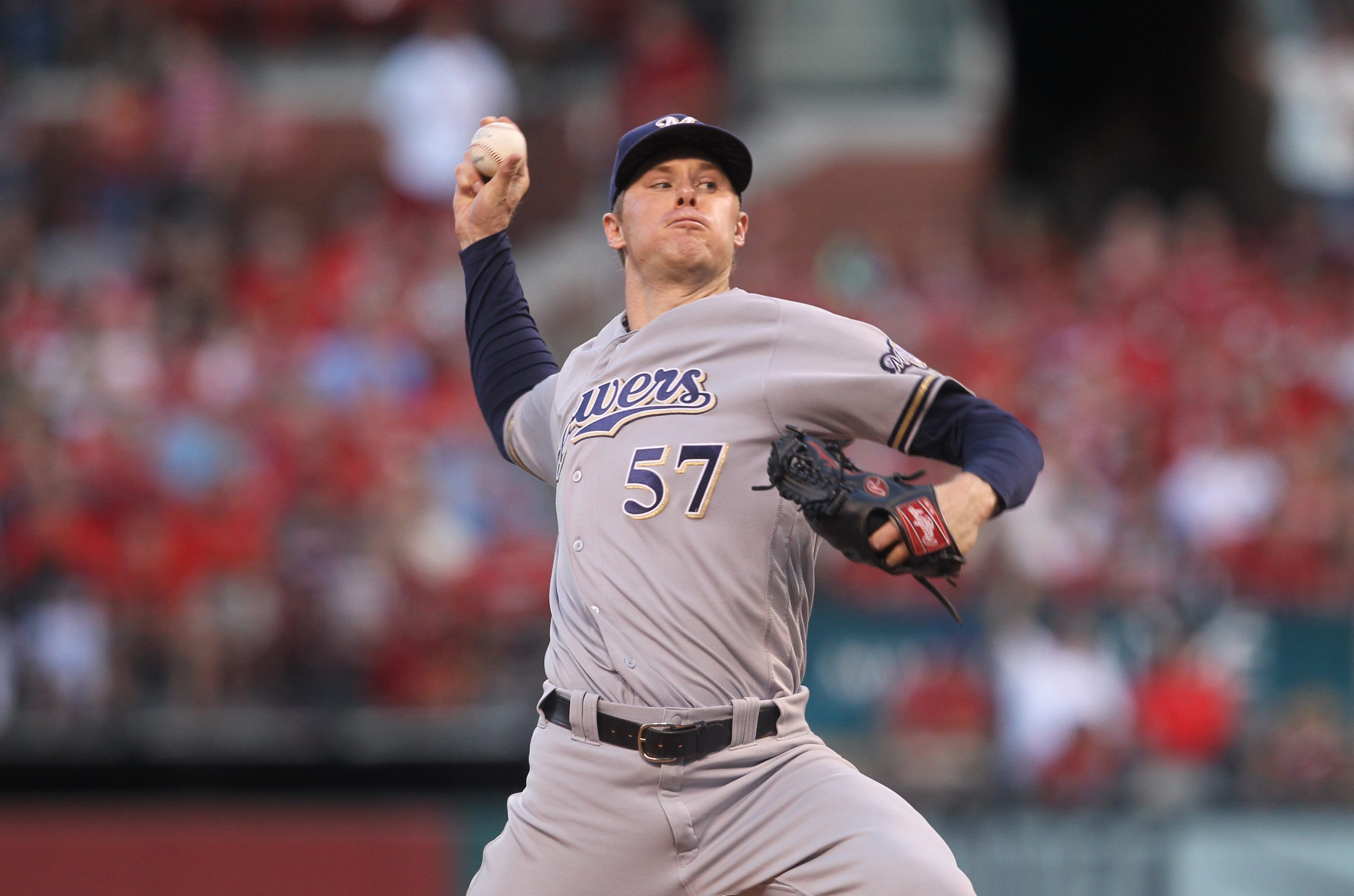 Anderson Strains Oblique Muscle In Brewers' Loss To Reds