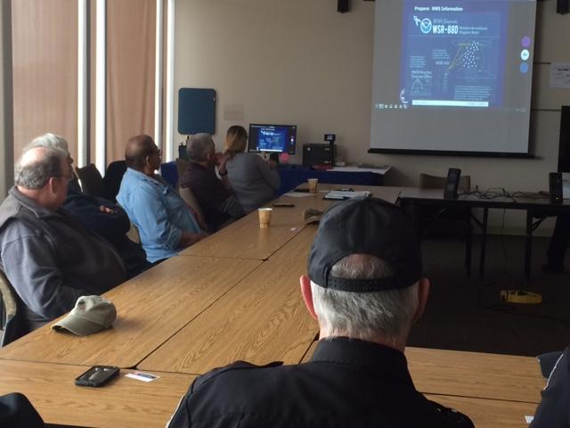 Shawano Holds Weather Spotter Training