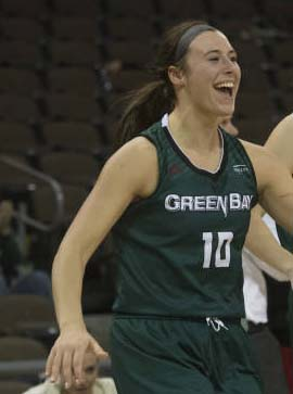 Green Bay's Kraker selected in WNBA Draft