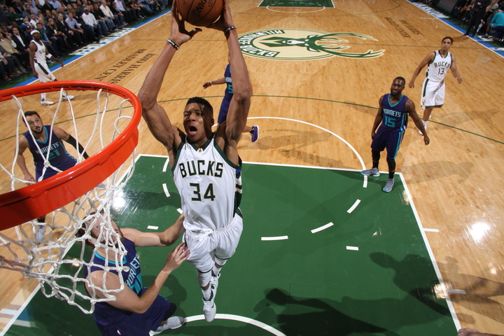 Antetokounmpo named to the All-NBA team
