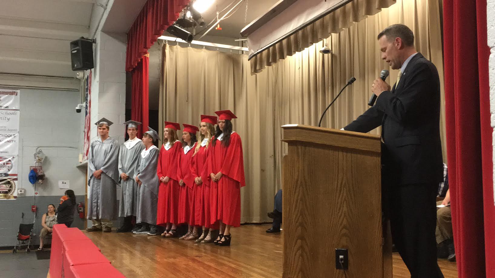 Gresham graduation ceremony held Friday