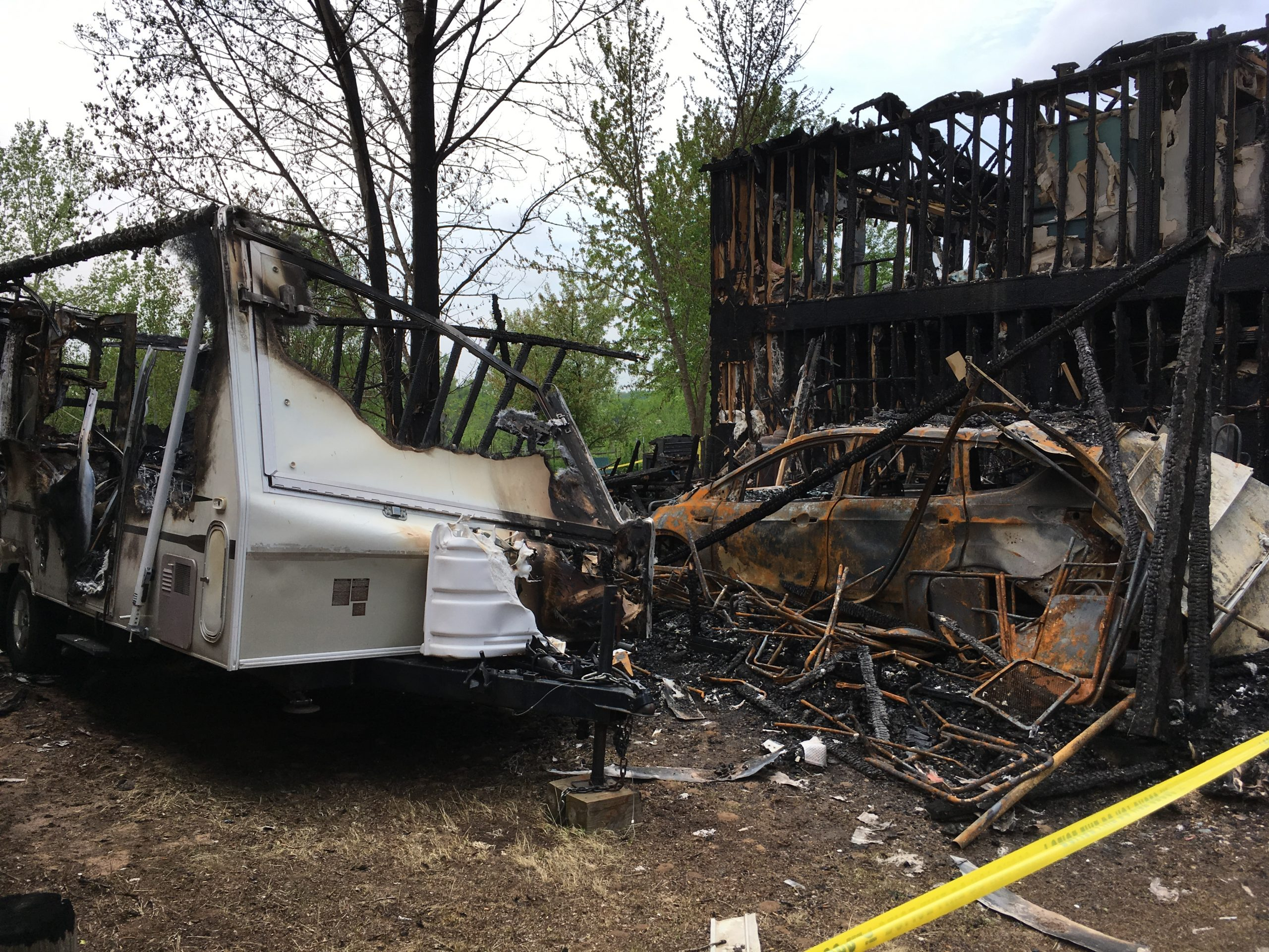 Community Offers Support For New London Family After Weekend Fire Takes Their Home