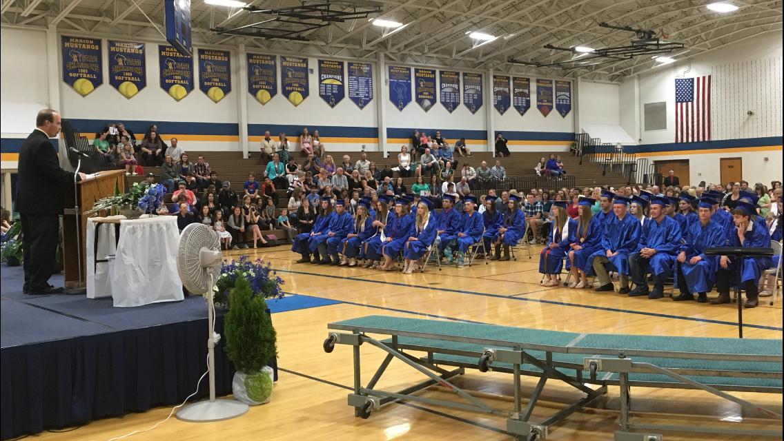 Marion celebrates Class 2017 graduation
