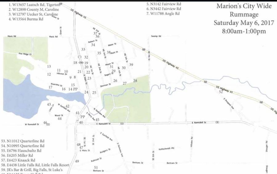 Marion Kicks Off Rummage Sale Weekend