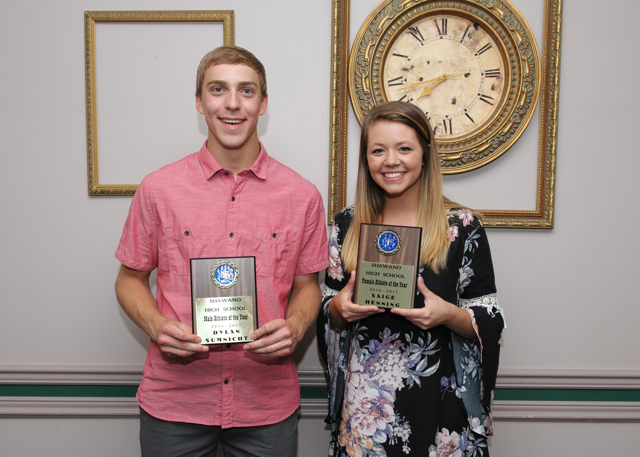 Shawano Hands Out Spring Awards