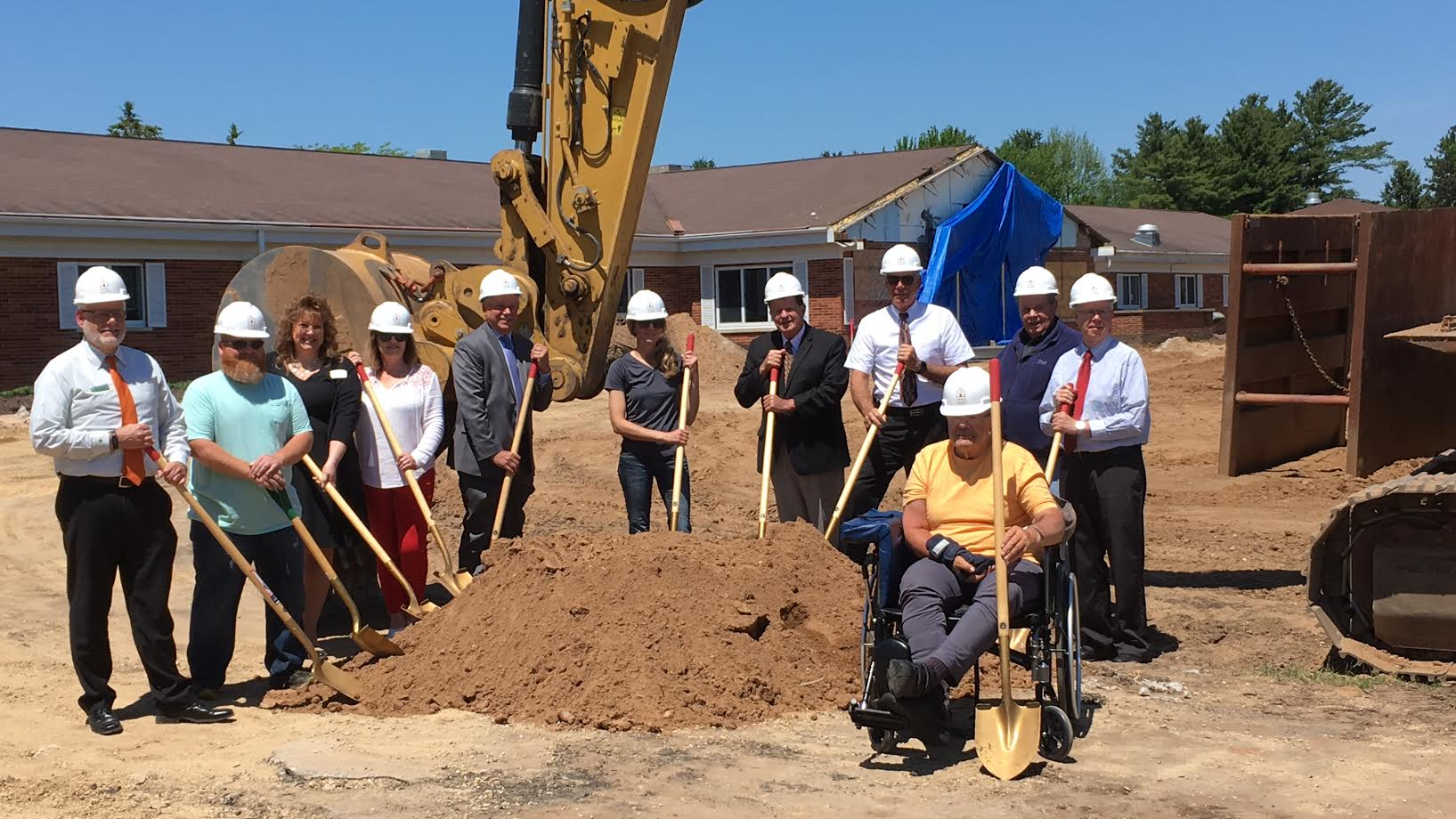 St. Joseph's Residence holds groundbreaking for expansion