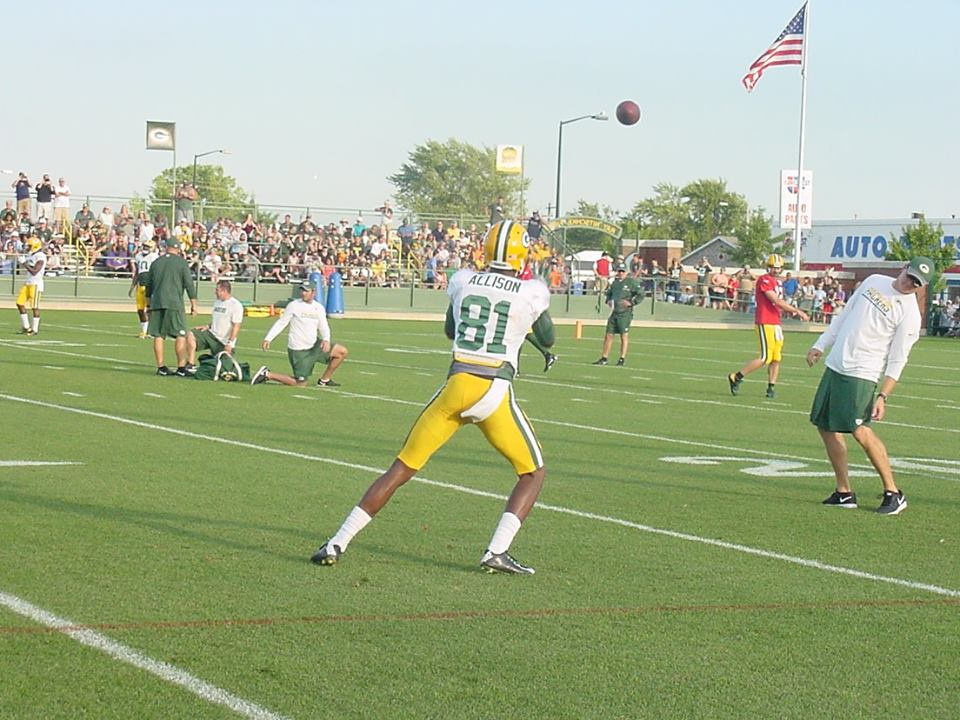 Packers WR Allison suspended one game