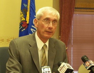 Evers files papers for governor's campaign