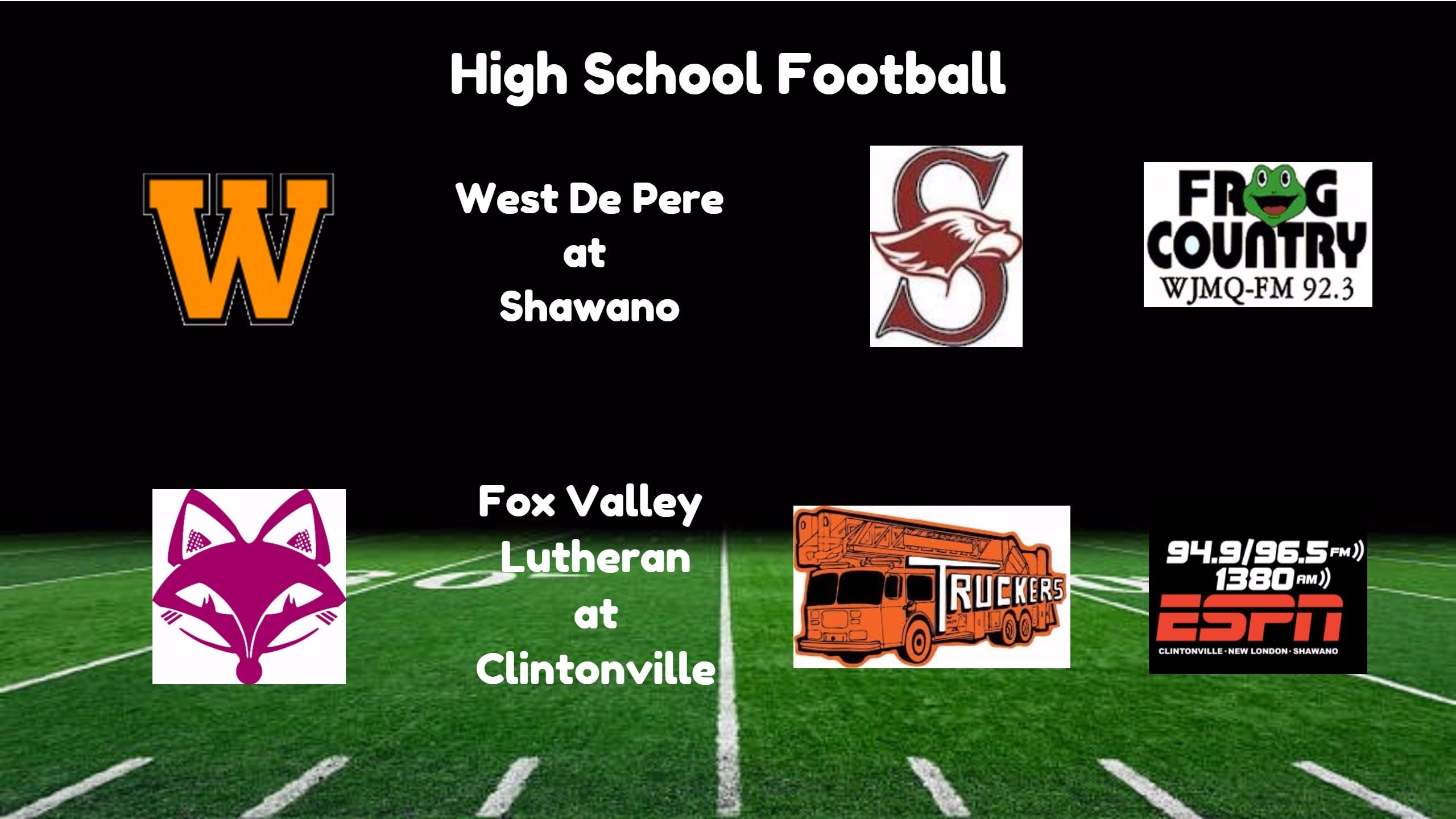 High School Football Broadcasts: Friday, August 18