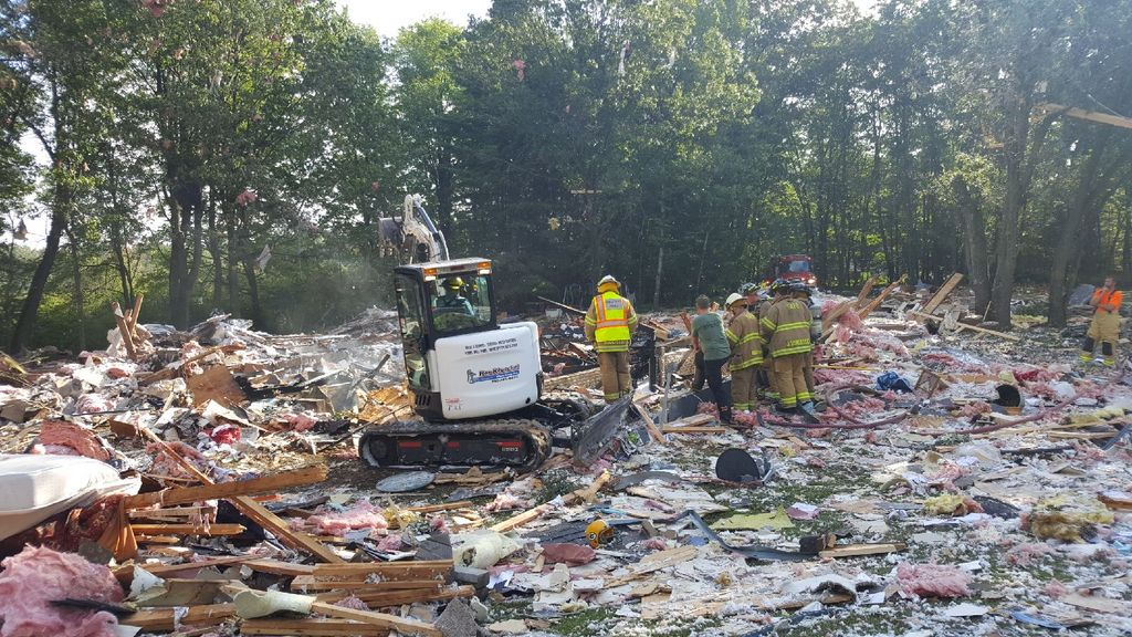 BREAKING NEWS: House Explosion Sparks Investigation In Shawano County