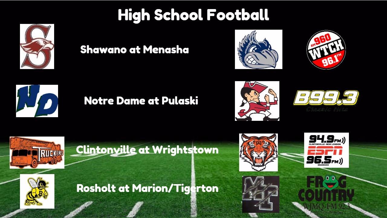 High School Football Broadcasts: Friday, September 8