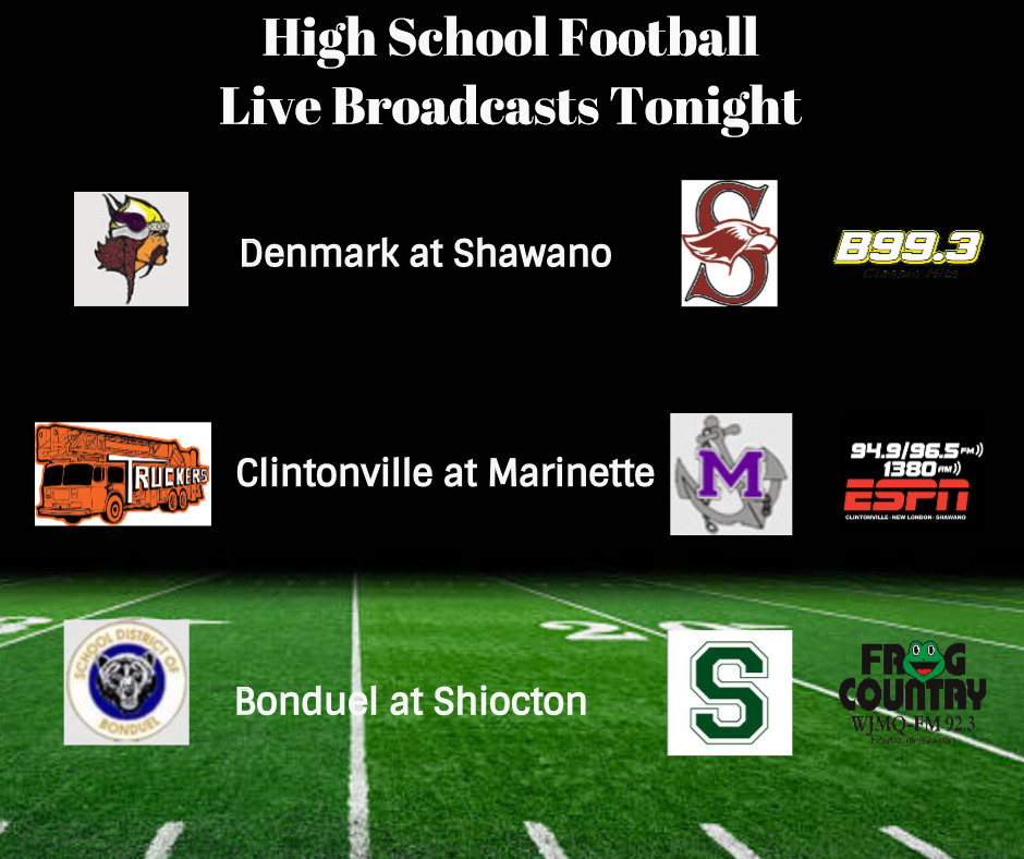 High School Football Friday; Playoff Spots Up For Grabs