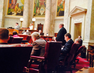 Senate opens debate on Wisconsin budget