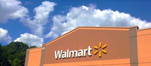 Man Caught Shoplifting at Walmart