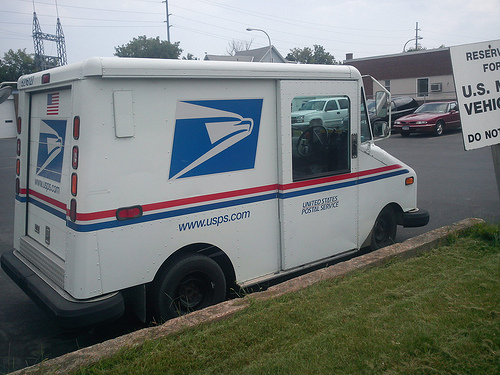 Woman charged in connection with mail truck and nursing facility thefts