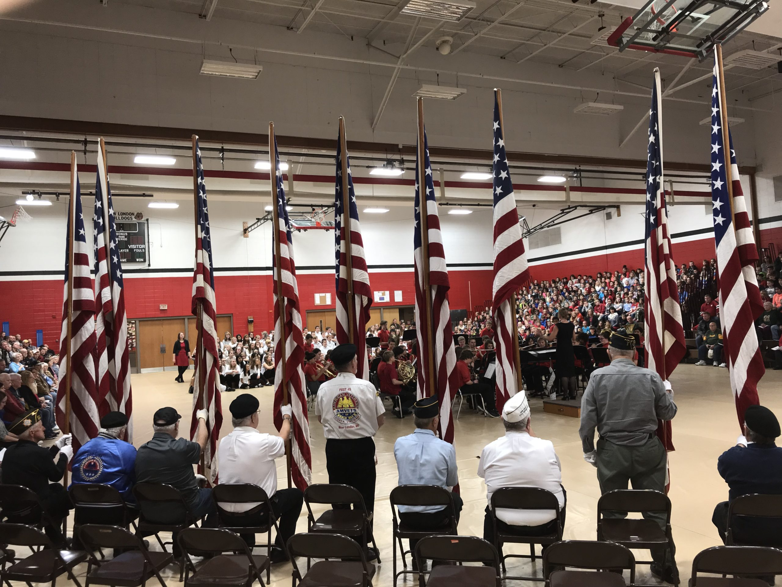 Veterans Honored in New London