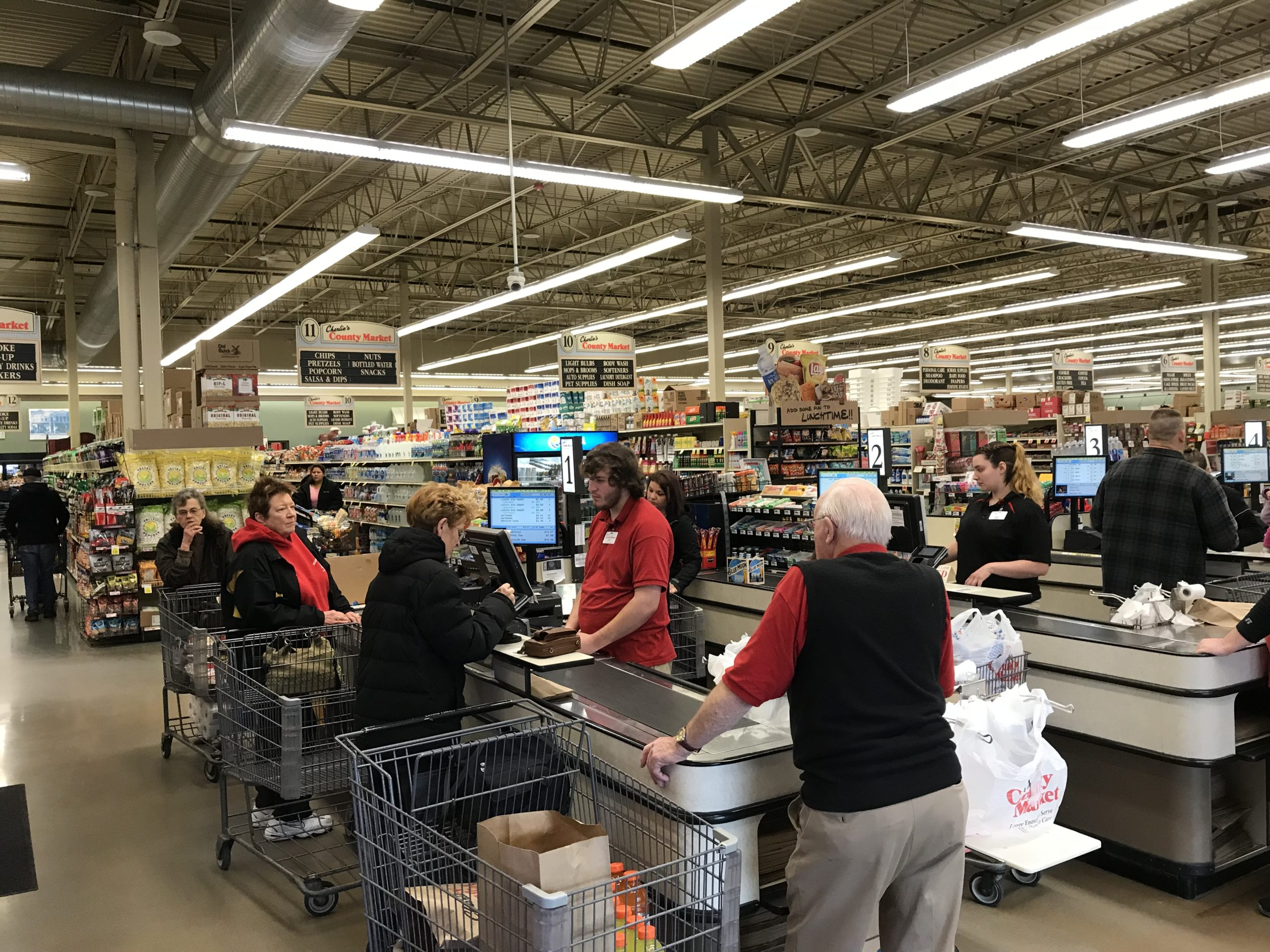 Hunting and Thanksgiving sends lots of people to the store this week