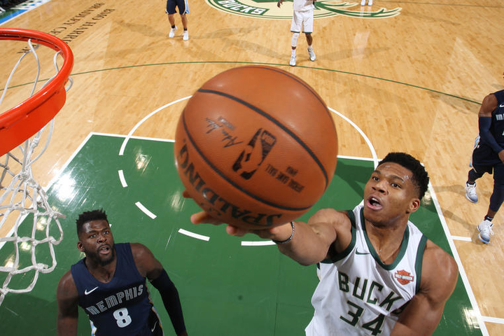 Giannis scores 40, but Bucks end 3-game win streak