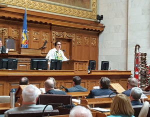 Menominee's Gary Besaw delivers State of the Tribes