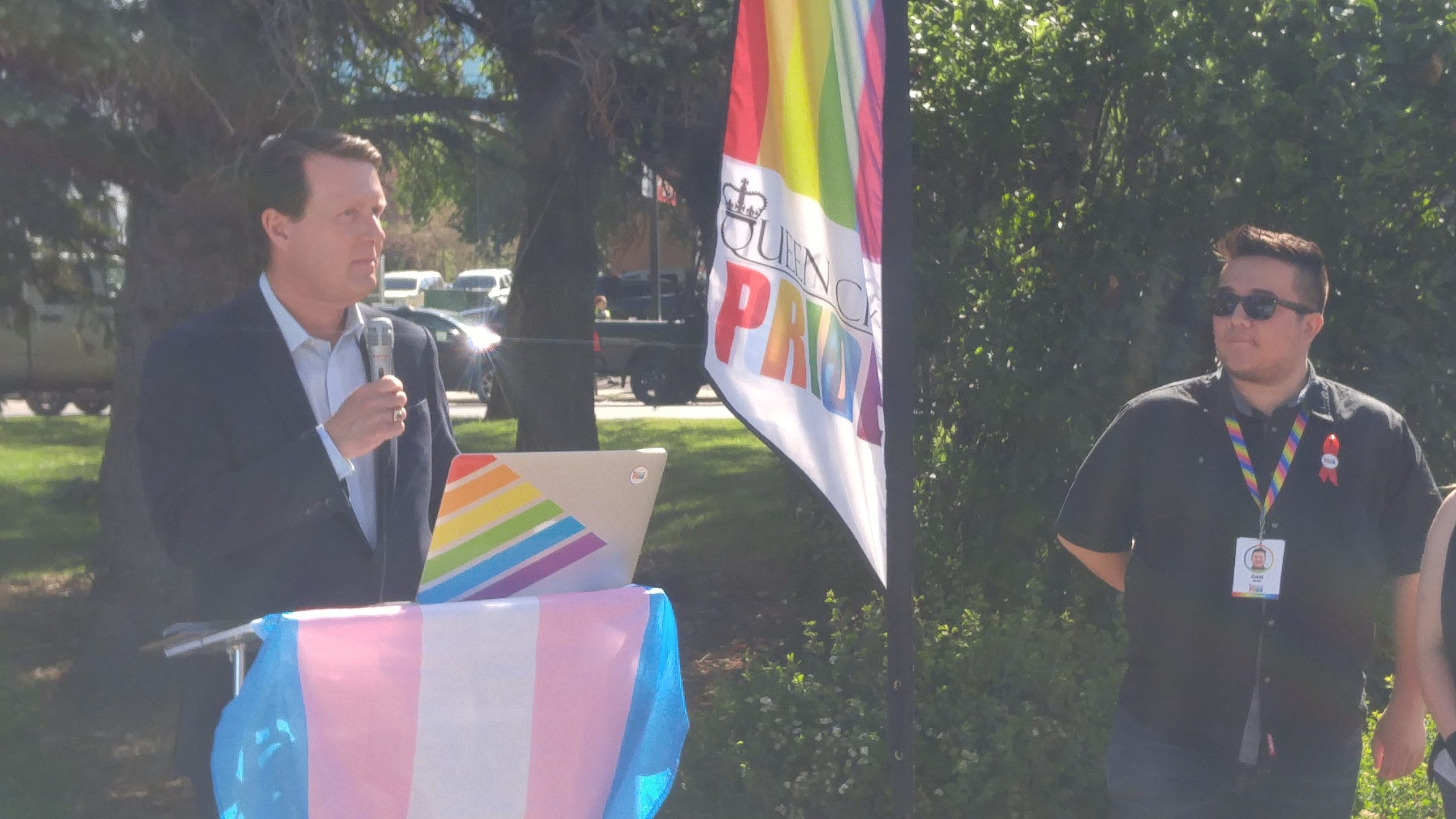 'Highest honour:' pride flag flies outside Regina city hall