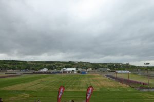 Country Thunder Saskatchewan organizers announce $1.2 million in renovations to the site in Craven on June 14, 2017, which includes new sod and renovated bathrooms. (Britton Gray/980 CJME)