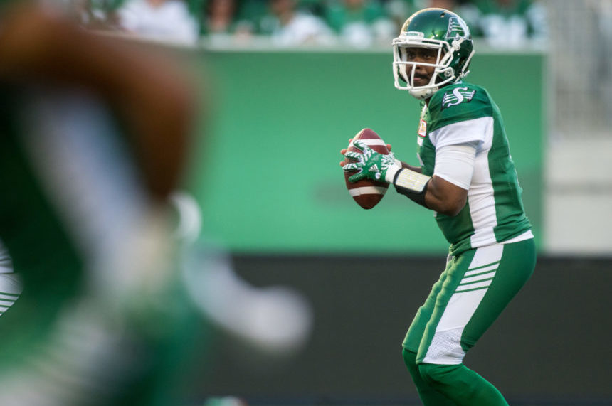 Glenn not bothered by Riders mid-game QB change