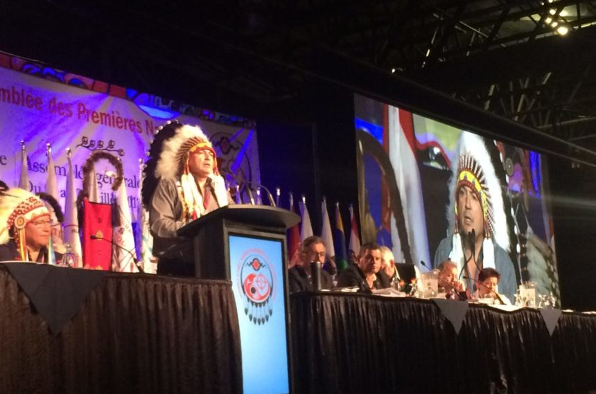 Racism, finances, self-governance discussed at AFN AGM