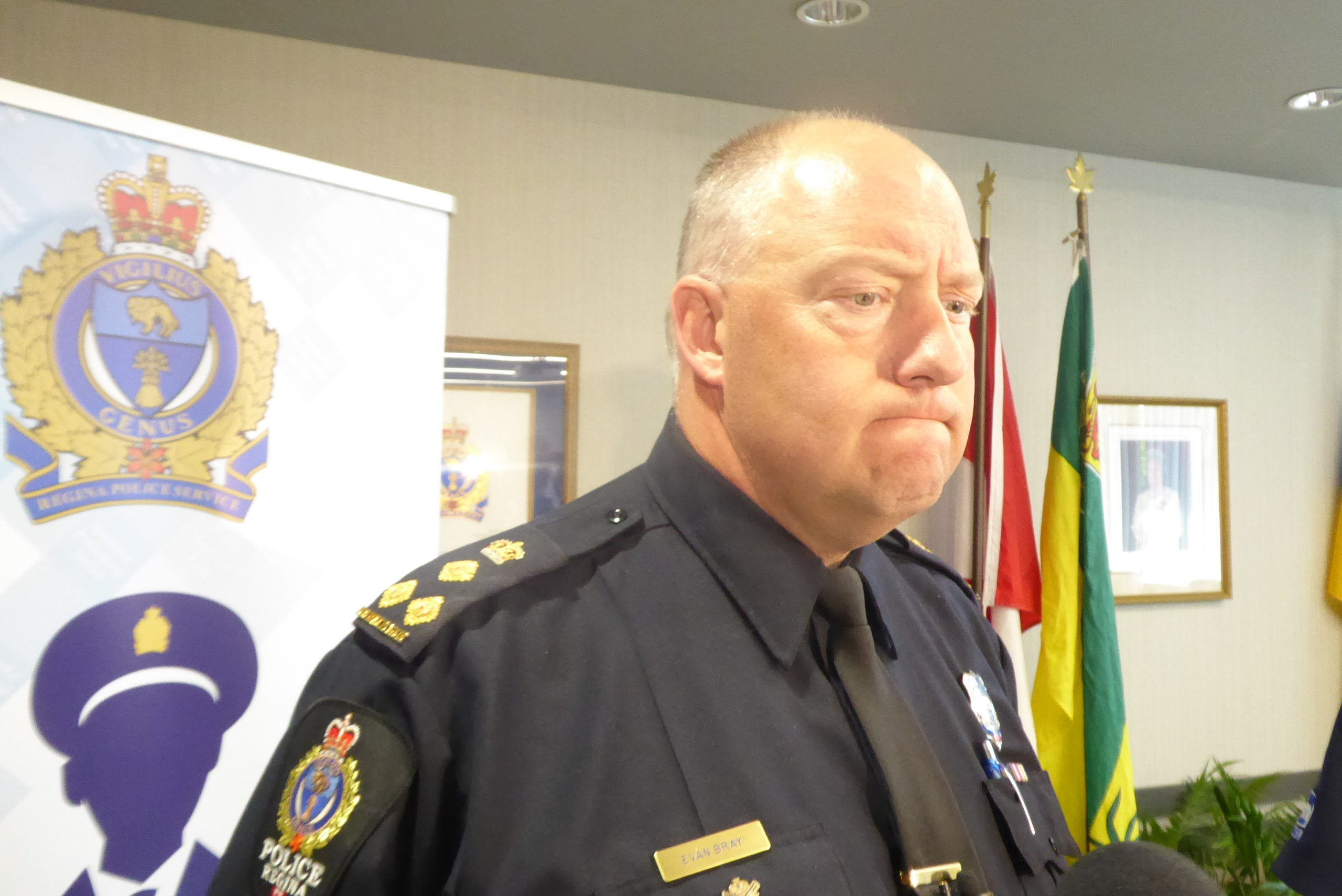 Regina police officer facing assault charge