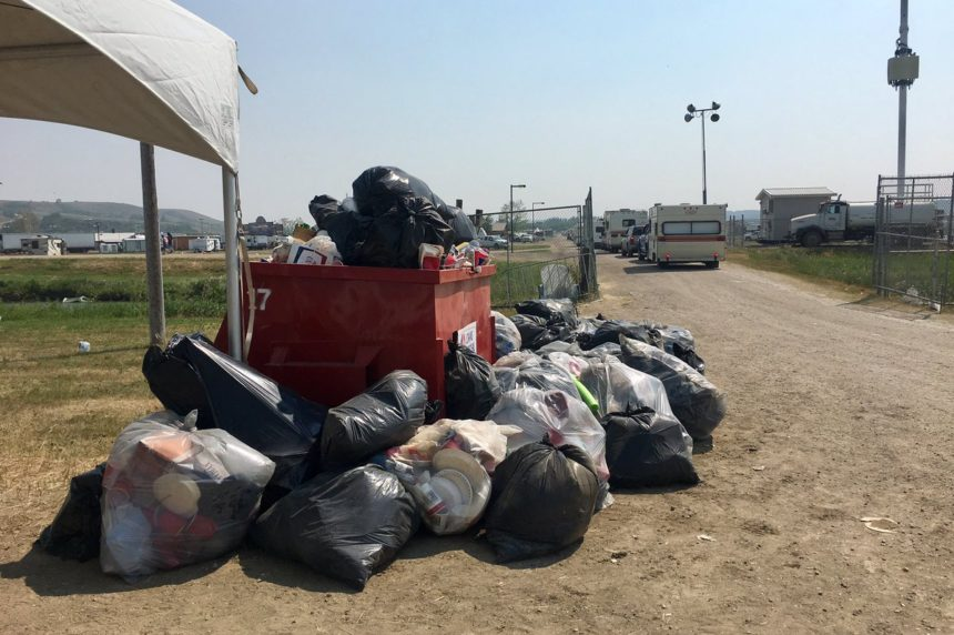 Clean up ahead of schedule at Country Thunder