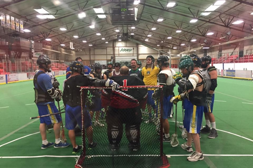 Saskatoon Brewers play symbolic 1st game at President's Cup