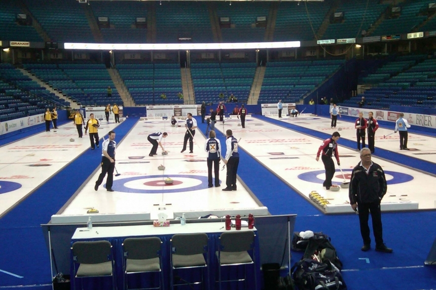 Potential Brier bid for Regina