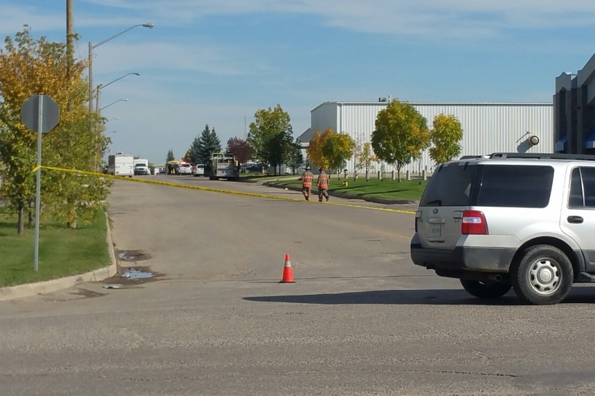 Potentially explosive chemical found in north Saskatoon industrial business